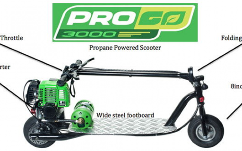 Why Choose Propane Scooters Over All Others?